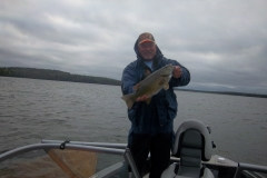 "Brett Langfritz 19.75"" Smallmouth Bass Released Sept 15th"