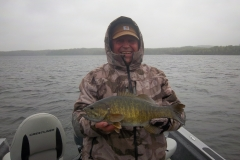 "Curt Schurman 18.5"" Smallmouth Bass Released Sept 16th"