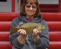 "Darlene Katzung 16"" Smallmouth Bass Sept 19th"