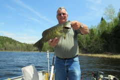 """Steve Taylor 20"""" Smallmouth Bass Released"""