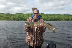 Mandi Kolb Walleye Released