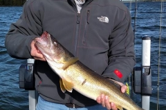 "Kyle McNeil 24.25"" Walleye Released"