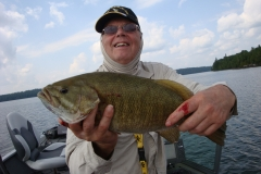 Harlan Kruse Nice Smallmouth Bass Released