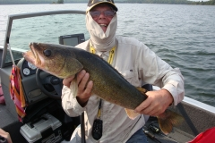 "Harlan Kruse 28.5"" Walleye Released"