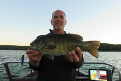 """Marty Neihouser 18.25"""" Smallmouth Bass Released"""
