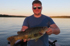 "Evan Neihouser 19.25"" Smallmouth Bass Released"