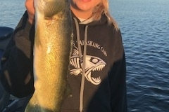 Kenzie Siemens Walleye Released