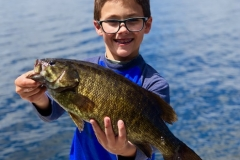 Zayden Inselman Smallmouth Bass Released