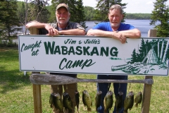 Brian Weller & Terry Lauer Great day for Crappie's