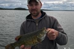 "Kurt Behnke 18"" Smallmouth Bass Released"