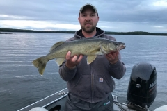 "Kurt Behnke 26.5"" Walleye Released"